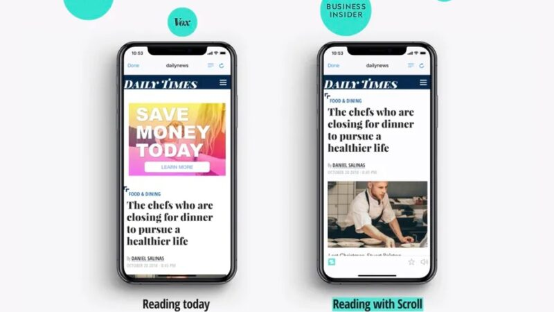 Twitter is buying Scroll, the subscription service that removes ads from news sites